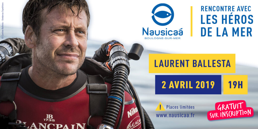 Laurent Ballesta à Nausicaa