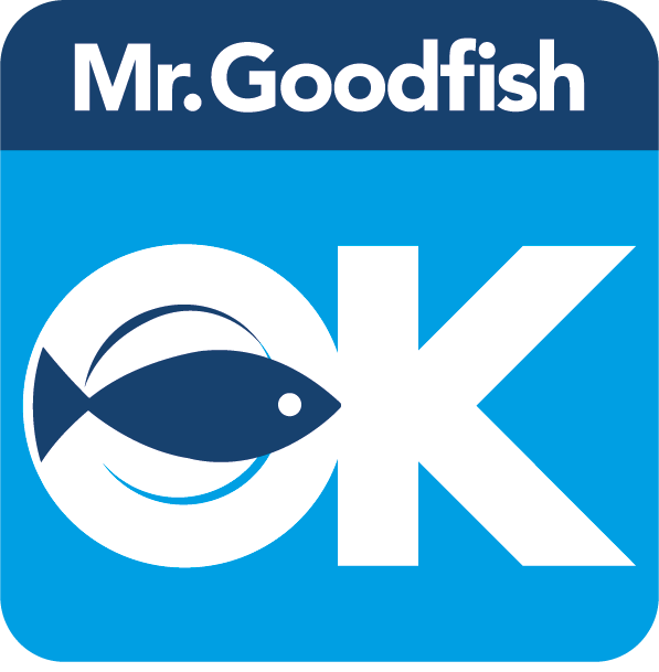 Logo du programme de promotion de la pêche et de l'aquaculture responsable Mr.Goodfish